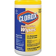 Clorox® Disinfecting Wipes, Lemon Fresh, 75 Count Canister