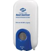 """Clorox Plastic Hand Sanitizer Spray Dispenser, White, 1000 ml, 10 1 / 8""""(H) x 4 1 / 2""""(W) x 5 3 / 8""""(D)"""