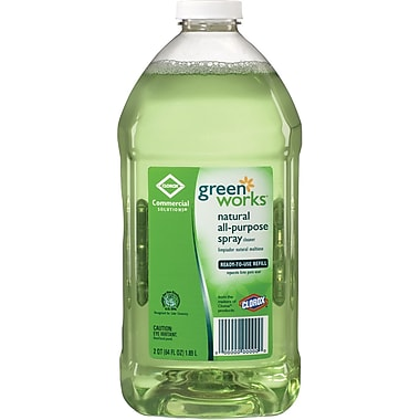 Clorox® Green Works All-Purpose Cleaner Refill Bottle, Original Scent,  64 oz.