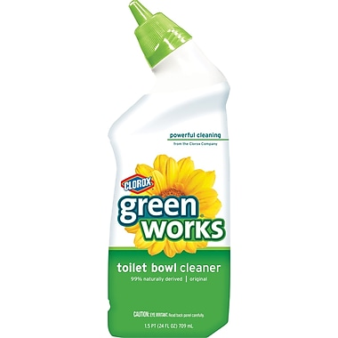 Clorox® Green Works Manual Toilet Bowl Cleaner, 24 oz