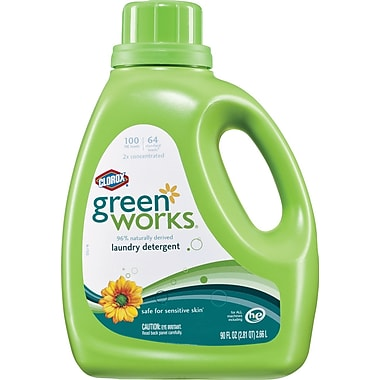 Clorox® Green Works Laundry Detergent, Original Scent, 90 oz.
