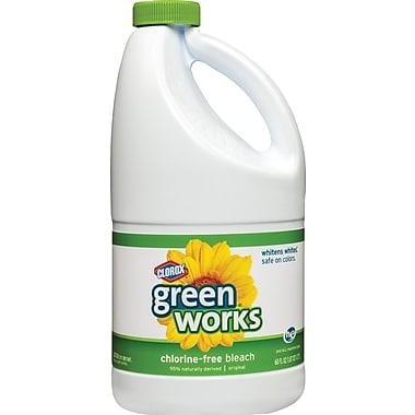Clorox Green Works Non-Chlorine Bleach, Unscented, 60 oz