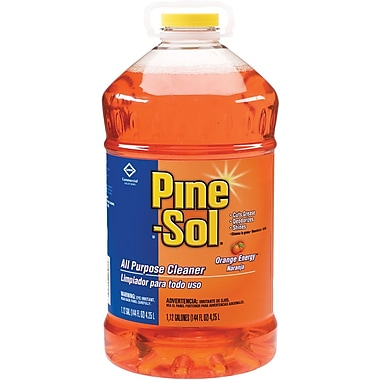 Pine-Sol® All Purpose Cleaner, Orange Energy®, 144 oz.
