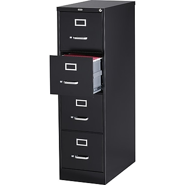 Staples 25in.  Deep Commercial Vertical File Cabinets, Letter Size