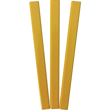 DesignWay Yellow Carpenter Pencils, Dozen
