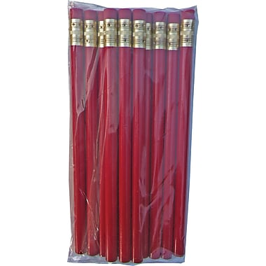 DesignWay #2 Red Jumbo Primary Pencils, Dozen