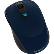 Microsoft Sculpt Mobile Mouse,  BlueTrack USB Wireless Mouse, Blue (43U-00011)