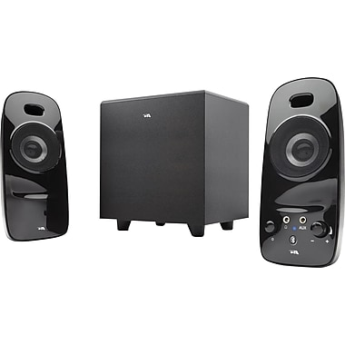 Cyber Acoustics CA-3092BT Bluetooth Speakers, Black