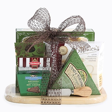 Cheese & Snack Assortment Gift Basket