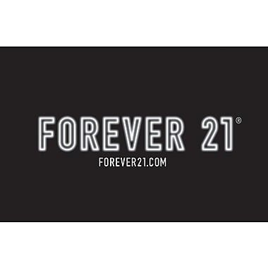 Forever 21 Gift Cards (Email Delivery)