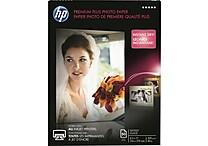 HP Premium Plus Photo Paper , 8 1/2' x 11', Glossy, 50/Pack