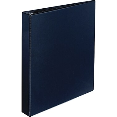 Avery Durable 1-Inch D-Ring Non-View Binder, Black (7301)
