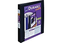 1' Avery® Durable View Binder with Slant-D Rings, Black