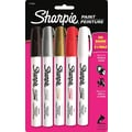 Sharpie Paint Oil Based Marker, Medium, Assorted, 5/Pack