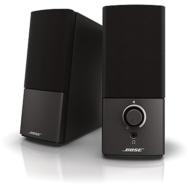 Bose Companion 2 Series III Multimedia Speaker System, Black