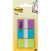 "Post-it® 1""  Flags with Pop-Up Dispenser, 66 Tabs/Pack"