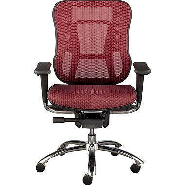 Staples Vayder Technical Mesh Task Chair, Red