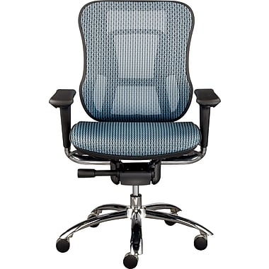 Staples Vayder Technical Mesh Task Chair, Blue