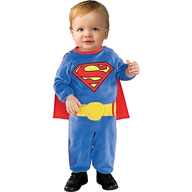 Superman Romper Costume, Infant, 6 to 12 Months