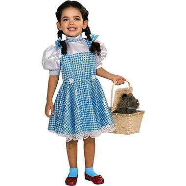 The Wizard of Oz, Dorothy Sequin Child Costume, Small