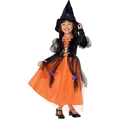 Let's Pretend, Pretty Witch Child Costume, Medium