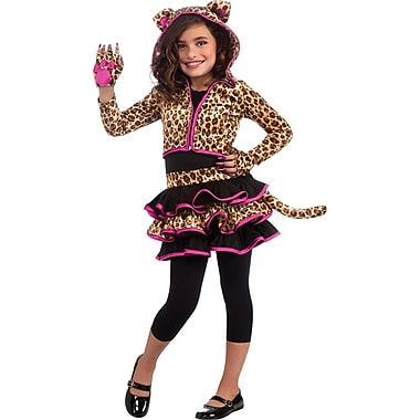 Leopard Hoodie Child Costume, Large