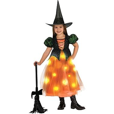 Rubie's Twinklers - Costume pour enfants sorcière citrouille, moyen