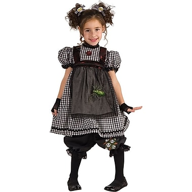 Deluxe Costumes, Gothic Rag Doll Child Costume