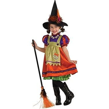 Deluxe Costumes, Orange Witch Child Costume
