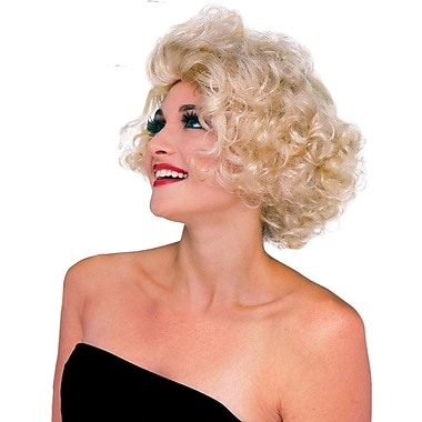 Rubie - Perruque de starlette d'Hollywood, blonde