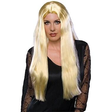 Rubie - Perruque blonde de sorcière d'Halloween, 24 po