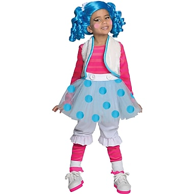 Lalaloopsy, Deluxe Mittens Fluff 'N' Stuff Costume, Toddler, 1 to 2 Years