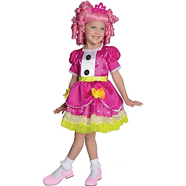 Lalaloopsy, Deluxe Jewel Sparkles Costume, Toddler, 1 to 2 Years