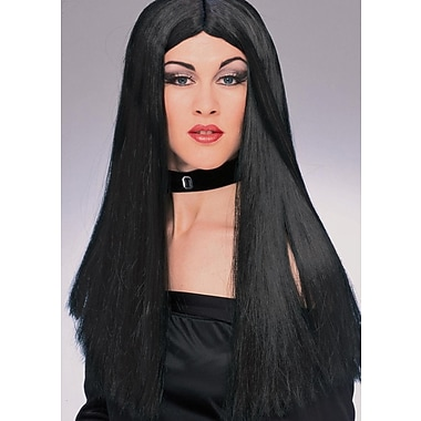 Rubie's Halloween Black Witch Wig, 24