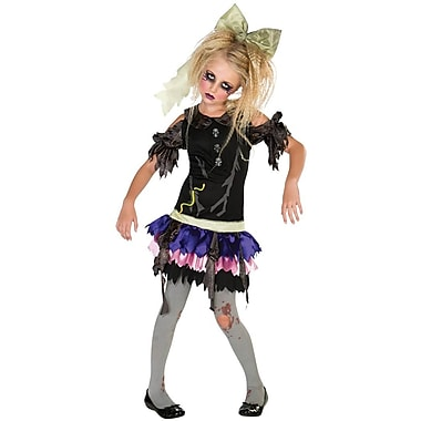 Zombie Doll Child Costume, Large