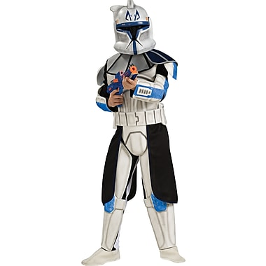 Star Wars: The Clone Wars, Deluxe Clone Trooper Captain Rex Child Costume, Large