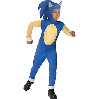 Sonic the Hedgehog - Costume de Sonic pour enfant, grand