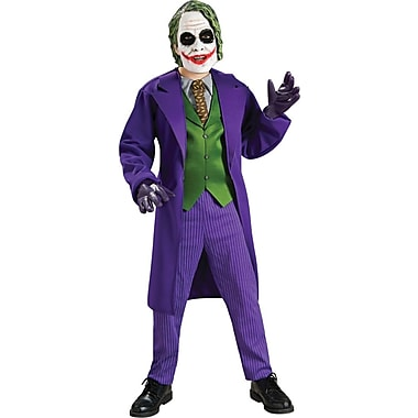 The Dark Knight, The Joker Deluxe Child Costume, Large
