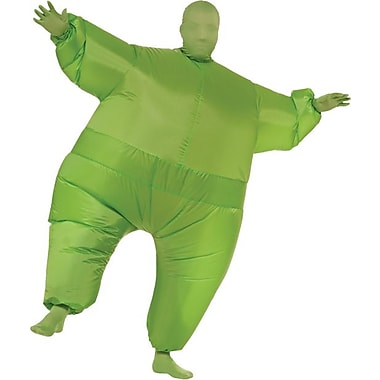 Funhouse Green Infl8s Inflatable Jumpsuit, Standard Adult Size
