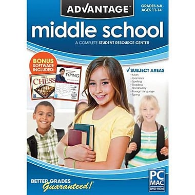 Encore Middle School Advantage for Mac (1 User) [Download]