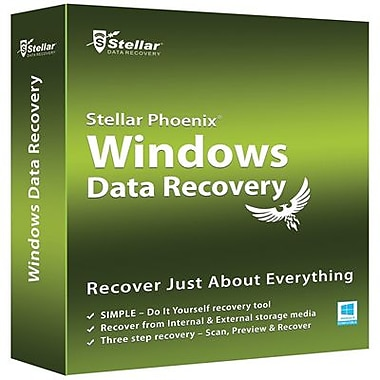 Stellar Phoenix – Windows Data Recovery - version professionnelle pour Windows (1 utilisateur) [Téléchargement]