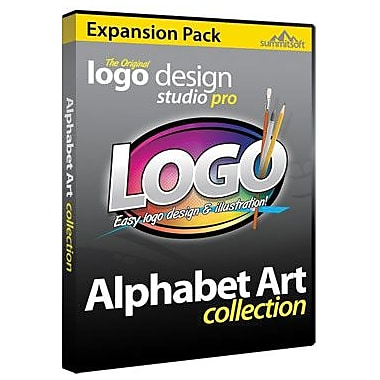 Summitsoft Logo Design Studio Pro Alphabet Art Expansion Pack for Windows (1 User) [Download]