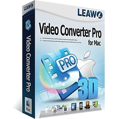 Leawo Video Converter Pro for Mac (1 User) [Download]