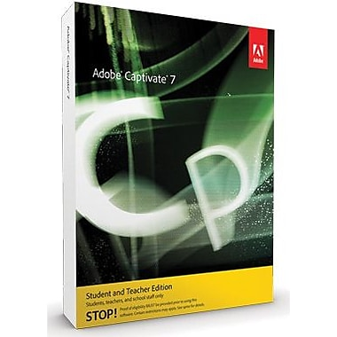 Adobe Captivate 7 - Student & Teacher Edition for Windows (1 User) [Download]