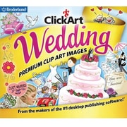 Broderbund ClickArt Wedding for Windows (1 User) [Download]