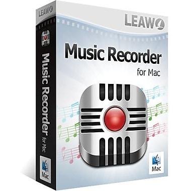 Leawo – Music Recorder pour Mac (1 utilisateur) [Téléchargement]