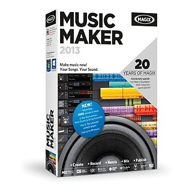 MAGIX Music Maker for Windows (1 User) [Download]