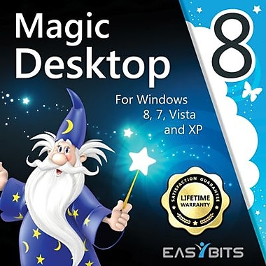 EasyBits Software Magic Desktop 8 - 1 Year License for 3 PCs for Windows (1-3 Users) [Download]