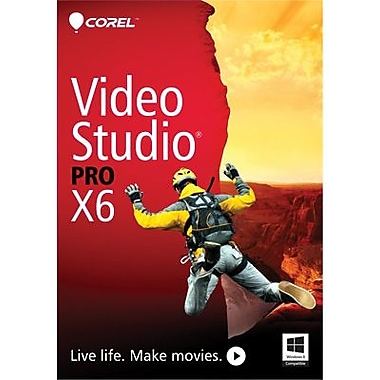 Corel VideoStudio Pro X6 for Windows (1 User) [Download]