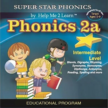 Encore Super Star Phonics 2a for Windows (1 User) [Download]